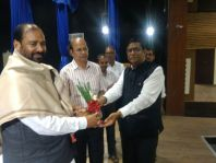 Visit of Dr. R.B. Singh, Maharashtra State Non Teaching Staff Mahasangha General Secretary